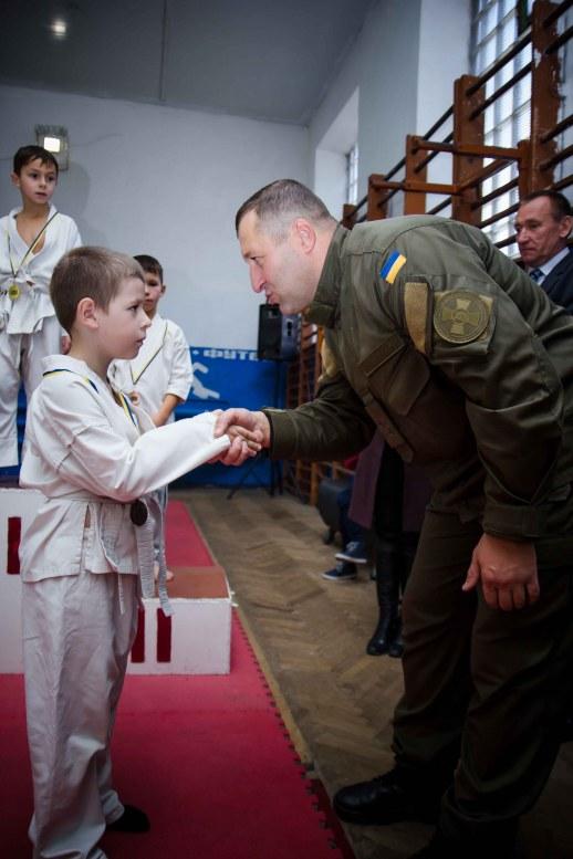 Відкрита першість Золочівської ДЮСШ з боротьби дзюдо